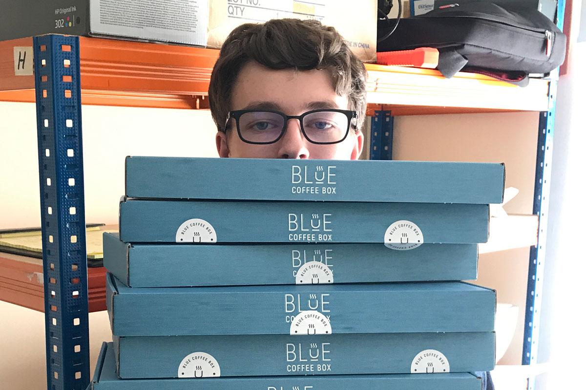 Blue Coffee Box | Meet The Maker