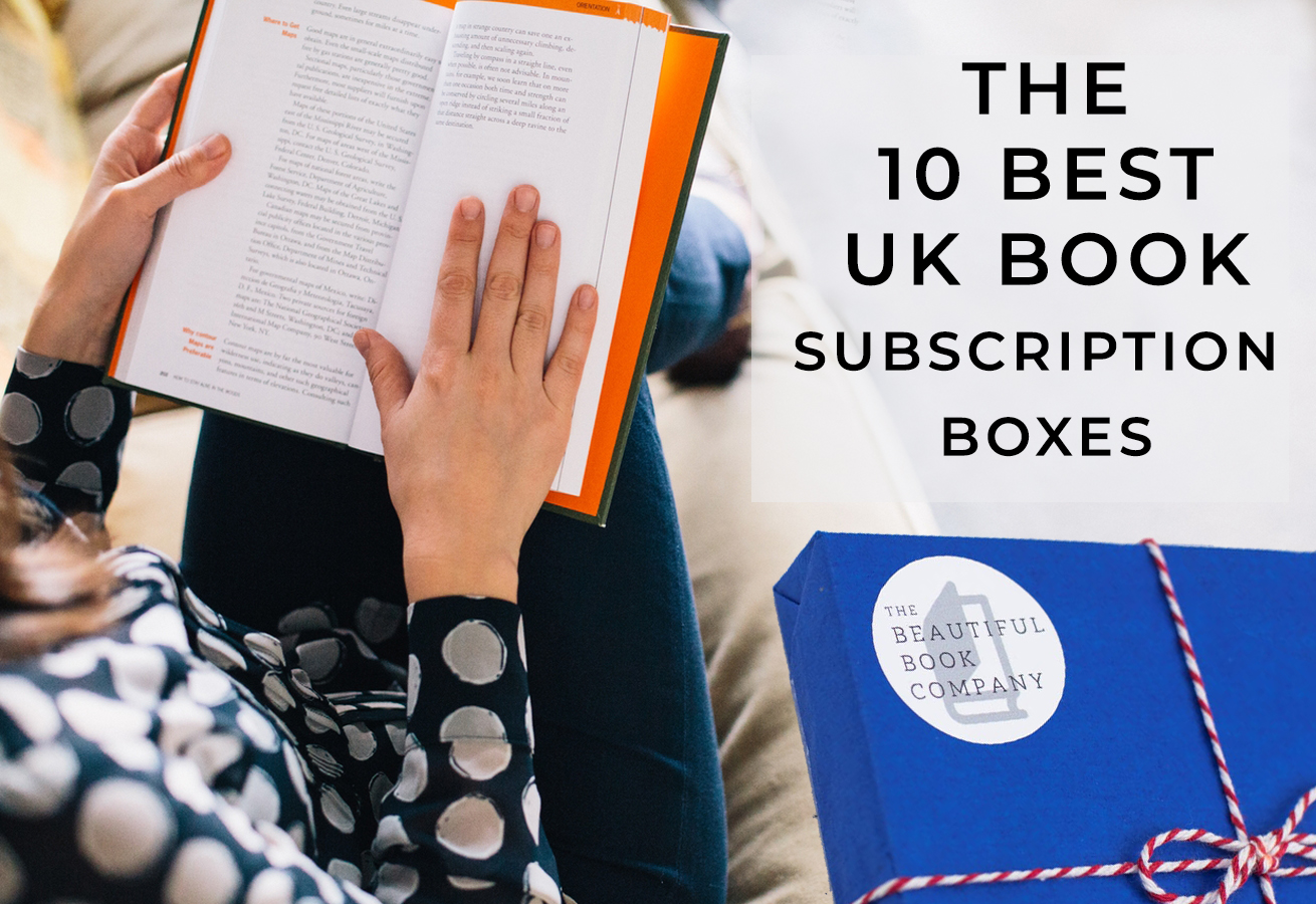 The 10 Best UK Book Subscription Boxes