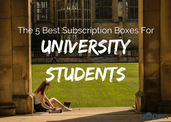 The 5 Best Subscription Boxes For University Students