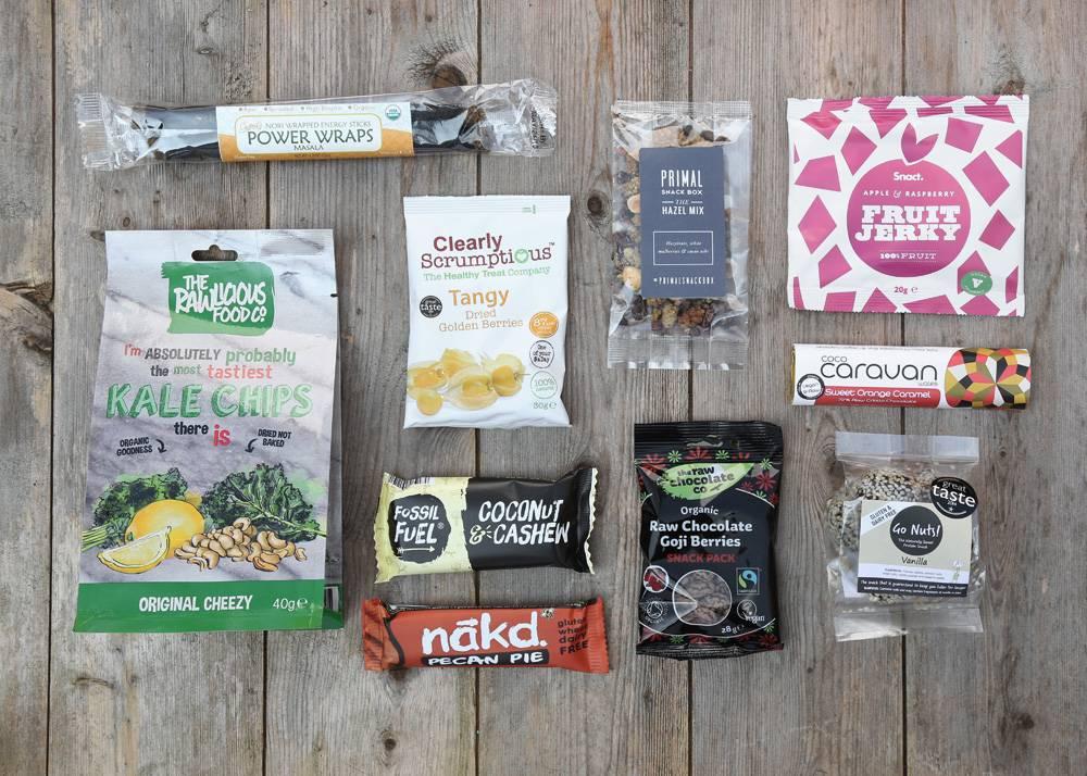 Monthly Paleo Snacks UK from Primal Snack Box