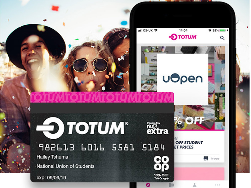 Get a 15% Student Discount with uOpen & TOTUM!