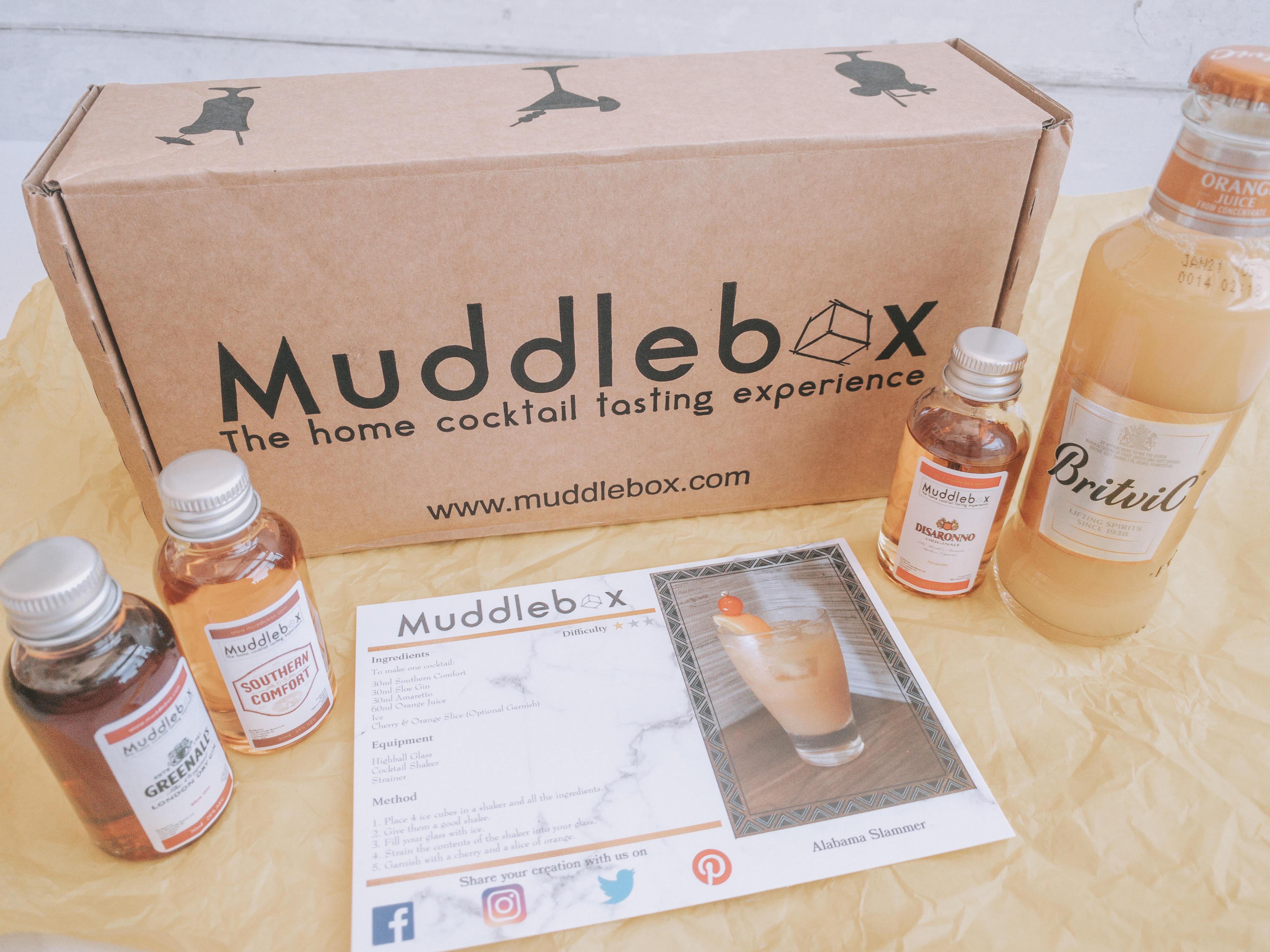 Muddlebox Review - May 2020 - Home Cocktail Box