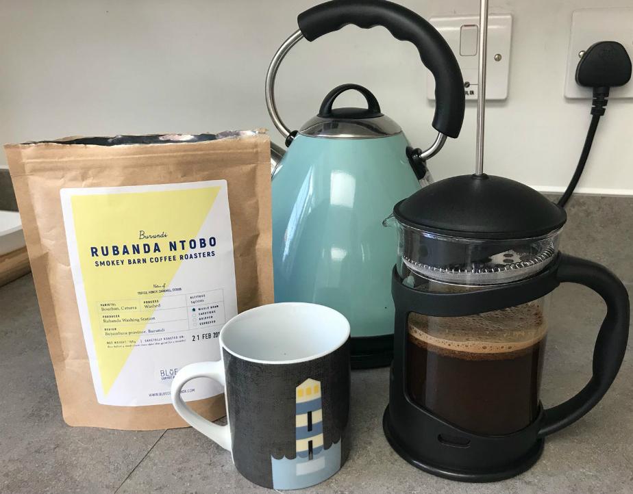 Blue Coffee Box | Staff Review