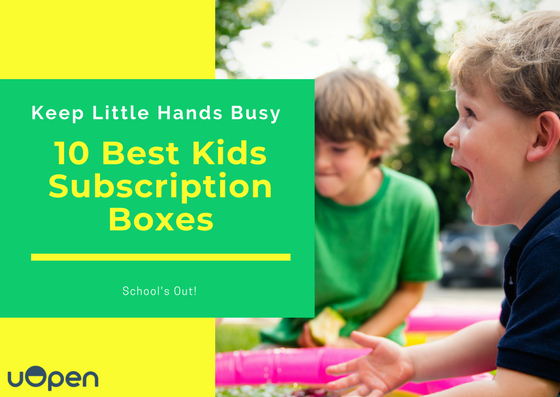 The 10 Best Kids Subscription Boxes