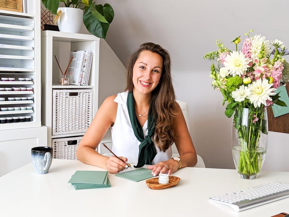 Jenni Liandu Calligraphy    Meet The Maker