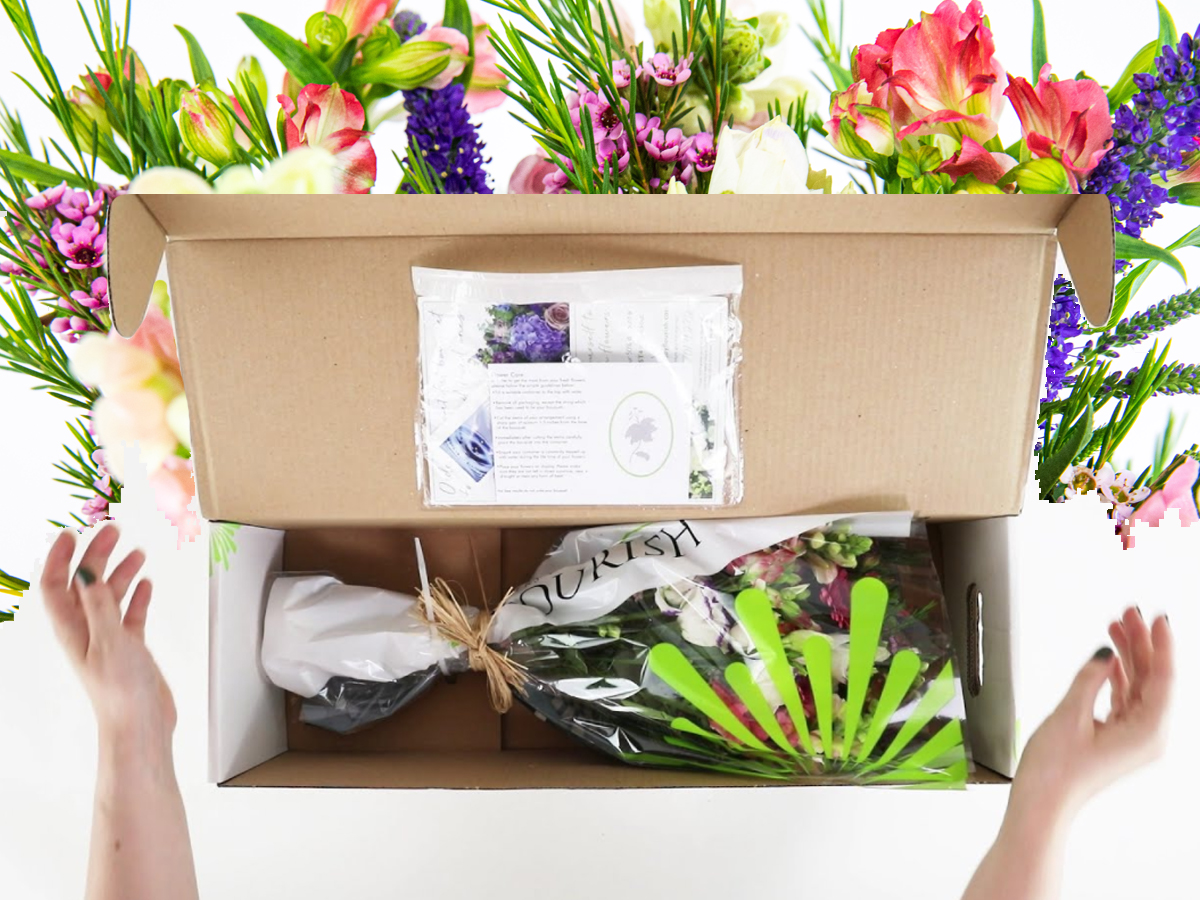 Unboxing Video - Flowers by Flourish