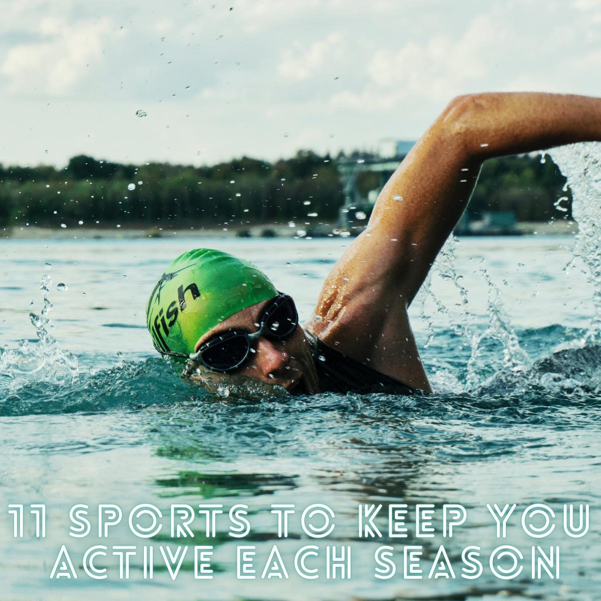 11 Sports To Keep You Active Each Season