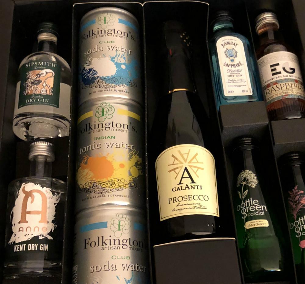 MicroBarBox: Gin Fizz & Prosecco Box | Staff Review