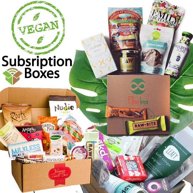 Vegan Subscription Boxes for Vegan Snacks