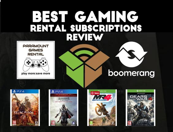 Best Game Rental Subscription