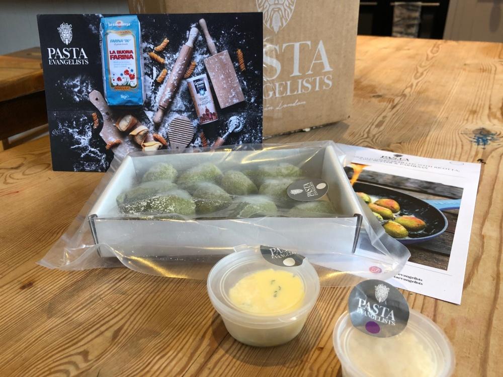Pasta Evangelists: Vegetarian Box | Staff Review