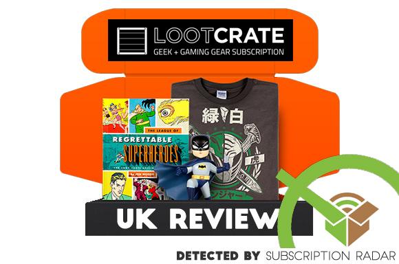 Loot Crate Review UK